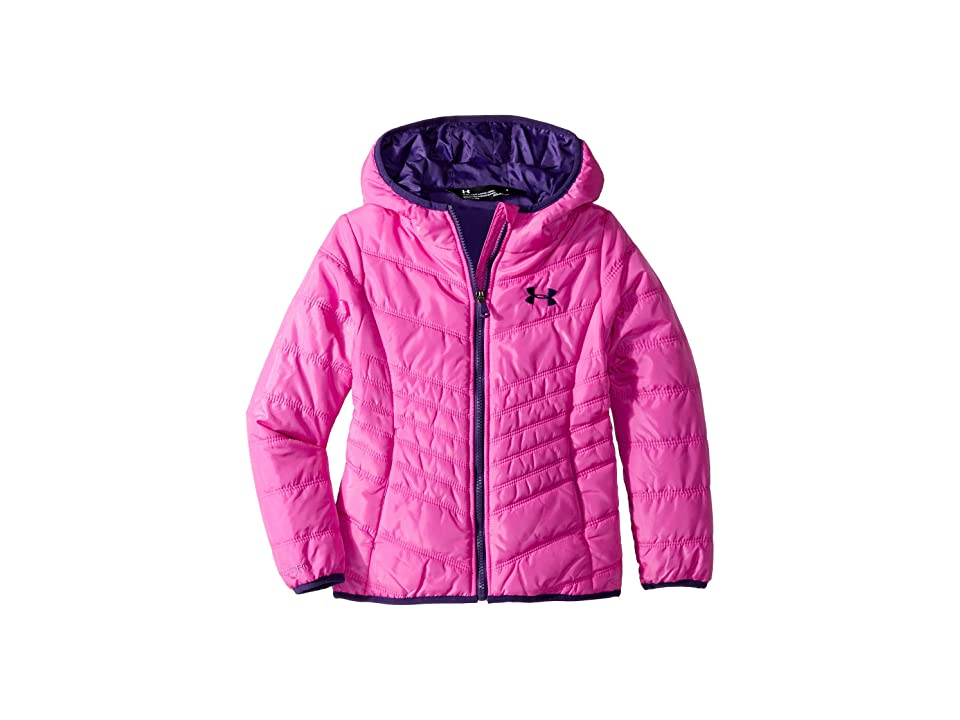 Under Armour Kids UA Prime Puffer (Big Kids) (Flou Fuchsia) Girl