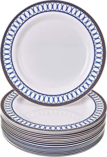 Size_Name/Color_Name Dinner Plates Royal Blue