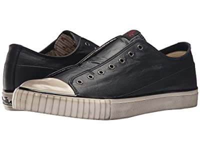 John Varvatos Laceless Low Top (Midnight) Men