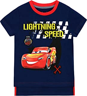 Disney Cars - Camiseta para niño - Cars Lightning Mcqueen - 3-4 Años