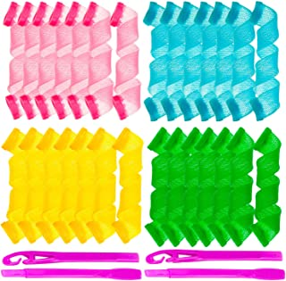 Ensbelei 28 Pcs Hair Curlers Styling Kit Hair Curlers Magic Hair Roller Heatless Wave Style with 2 Pieces Styling Hooks fo...