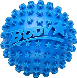Body Star Textured Self Massage Ball (Blue), Trigger Point Release Ball, Stress Reflexology Sensory Ball