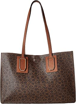 Unlined Monogram East/West Boxed Tote