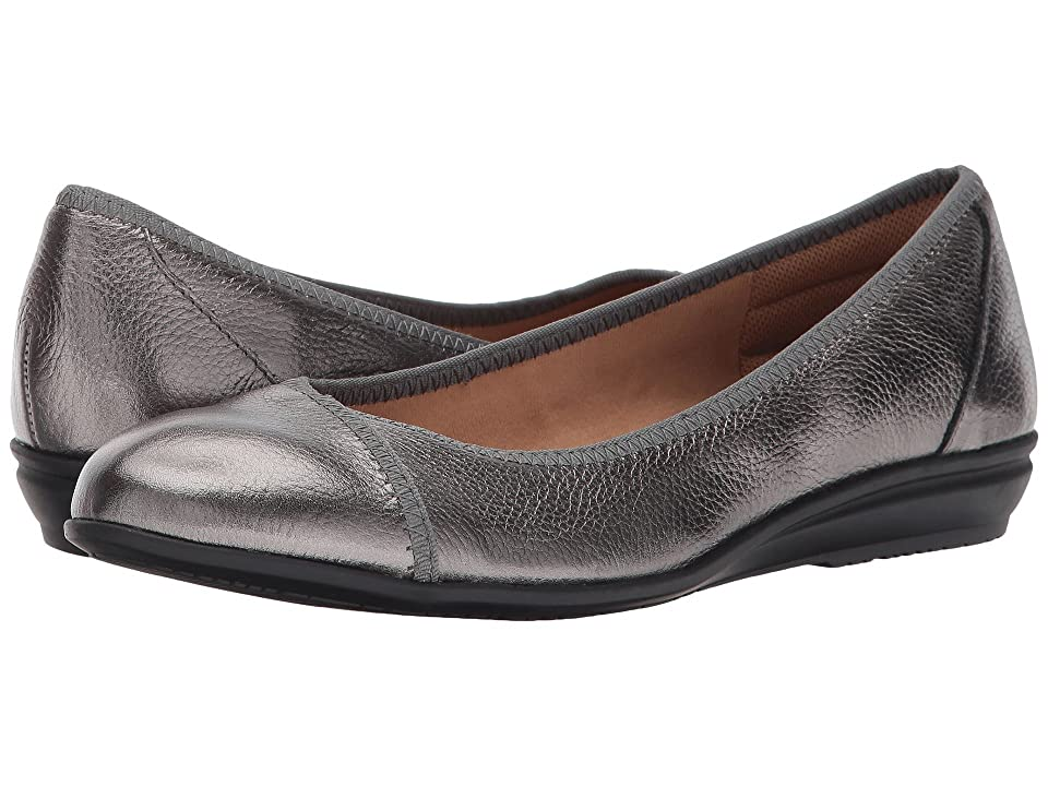Comfortiva Eaton (Pewter Cow Metallic) Women