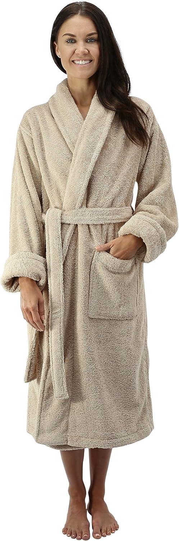 Comfy Robes Women's Deluxe 20 oz. Turkish Terry Bathrobe