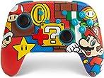 PowerAEnhanced Wireless Controller for Nintendo Switch - Mario Pop (Only at Amazon)