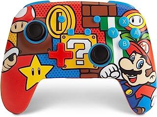 PowerA Enhanced Wireless Controller for Nintendo Switch - Mario Pop