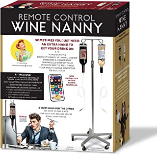 Maad Wine Nanny Prank Giftbox - Perfect Gag for Wedding Gifts, Anniversary Presents, or White Elephant