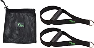 iRibit Fitness A Pair of Heavy Duty Exercise Handles for Cable Machines and Resistance Bands