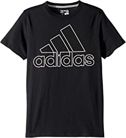 Performance Logo Tee (Big Kids)