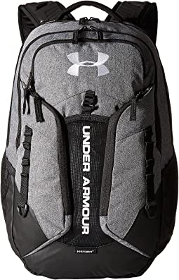 Under armour ua contender backpack pink chroma stealth gray stealth ... 5dd9612502f59
