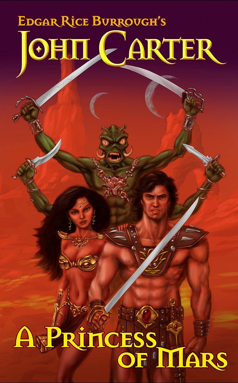 レビューエキゾチックリーJohn Carter: A Princess of Mars (Illustrated) (Barsoom Series Book 1) (English Edition)