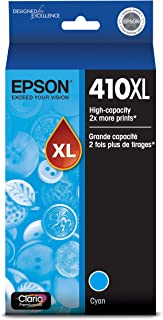 Epson T410XL220 Claria Premium Cyan High Capacity Cartridge Ink