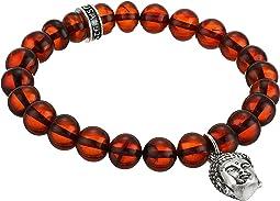 King Baby Studio - Buddha Charm 10mm Beaded Bracelet