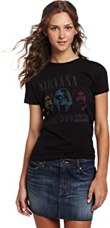 FEA Women's Nirvana JRS no 1 Rock Music Tissue tee