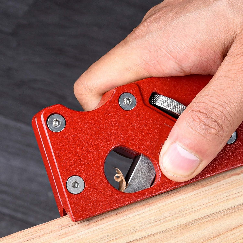 Pialla per legno strumento per smussare il legno bordo in metallo Takefuns per il muro a secco per la lavorazione del legno in alluminio regalo per falegnami per tagliare aerei