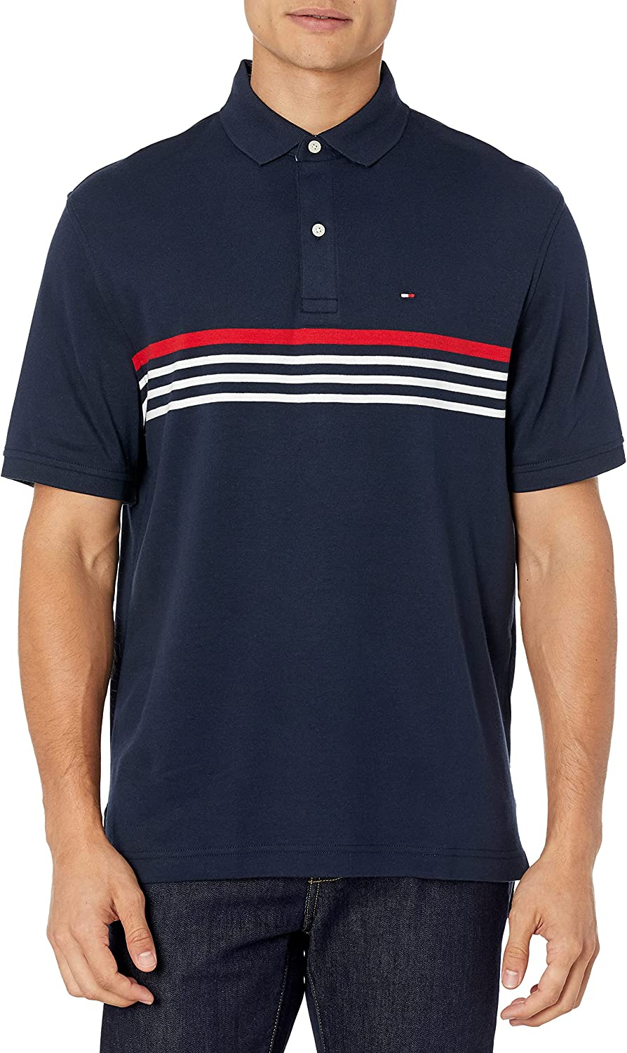 Tommy Hilfiger Men's Interlock Polo Fit Same day shipping in Ranking TOP6 Classic Shirt