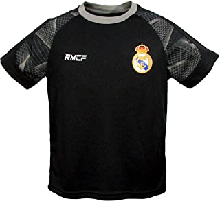 Official Real Madrid C.F, Number 7, Junior Boys Crew Neck, Short Sleeve T-Shirt Top
