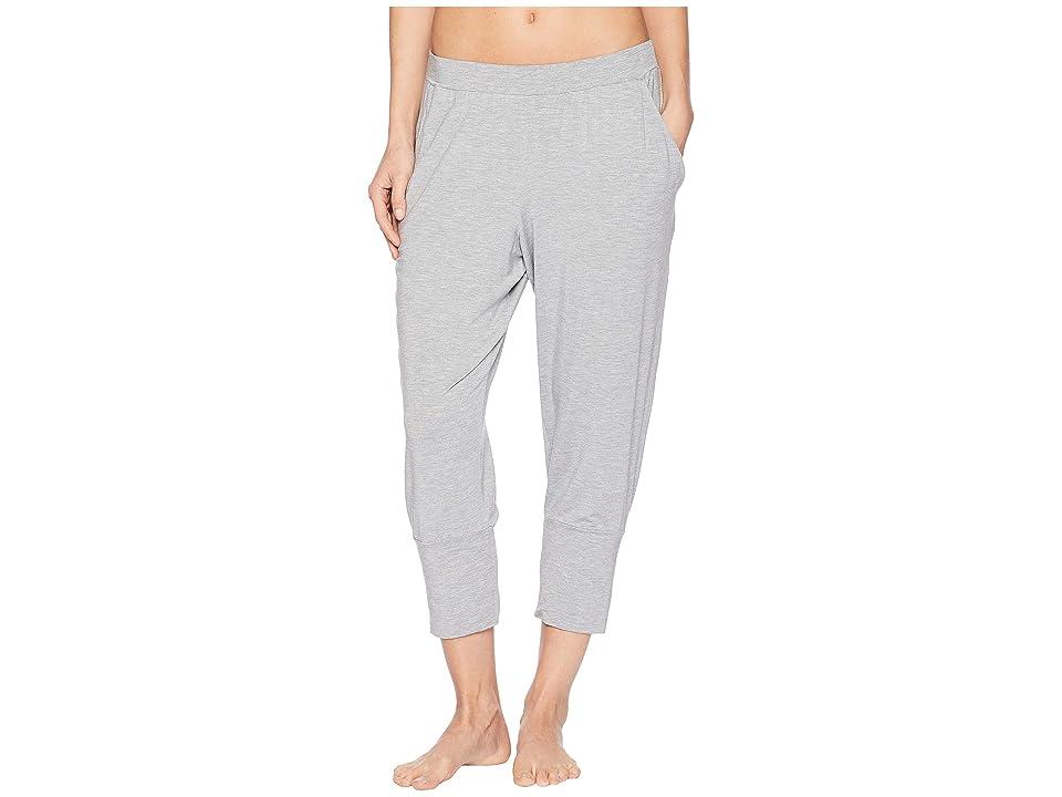 Hanro Yoga Crop Pants (Grit Melange) Women