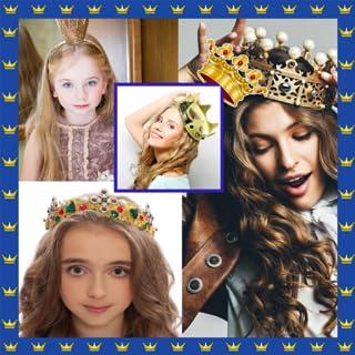 Collage de fotos de la corona