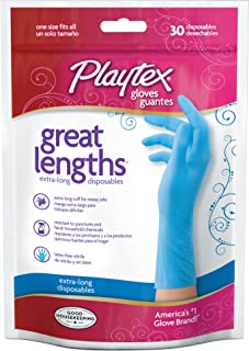 Playtex Great Lengths Disposable Glove - 30ct Pouch (Pack of 3)