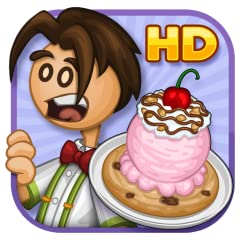 Hands-on sundae shop in the Papa Louie universe Multi-task between making cookies, baking, scooping ice cream, and adding toppings 12 separate holidays to unlock, each with more ingredients 90 colorful Stickers to earn for completing tasks Tons of fu...