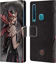 Official Anne Stokes Spellbound Dragon Friendship Leather Book Wallet Case Cover Compatible for Samsung Galaxy A9 (2018) / A9s