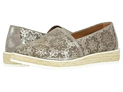 Trask Cailyn (Pewter Metallic Italian Suede) Women