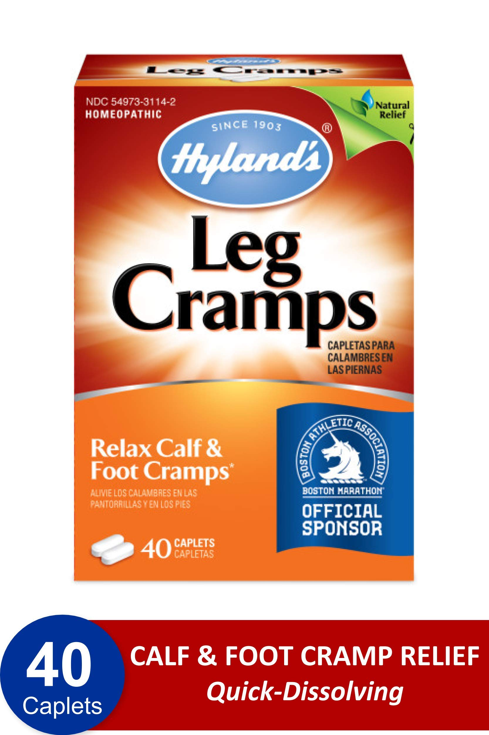 Hylands Caplets Natural Pharmacist Recommended