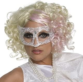 lady gaga pink wig