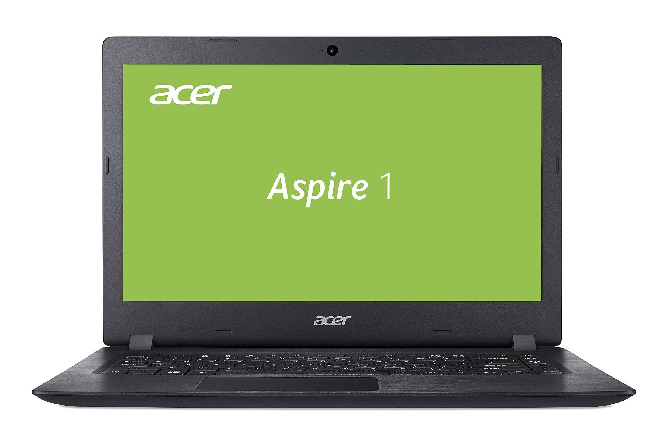 Acer Acer Aspire 1 35.6 cmマルチメディアノートブック(4 GB RAM)黒黒曜石Schwarz 64 GB eMMC