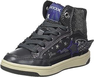 Geox Jr Creamy A, Baskets Hautes Fille