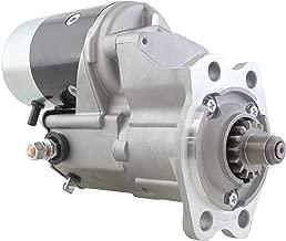 New Premium 12V Gear Reduction Starter fits John Deere Tractor 1050 1250 1450 1650 w 3T90 Yanmar Diesel 1928-1989 2.5KW 15 Tooth 28100-42160-71 121420-77010 028000-5660 028000-5661 028000-5662 010790