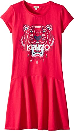 Kenzo Kids Dress Classic Tiger (Big Kids)