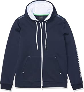 Men's Solid Colored Zip Up Sweatshirt