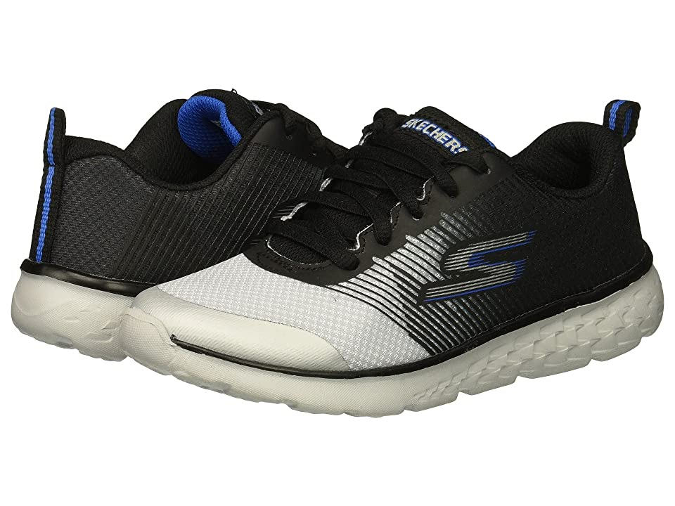 SKECHERS KIDS Go Run 400 (Little Kid/Big Kid) (Black/Grey) Boy