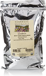 Starwest Botanicals Organic Wheatgrass Powder, 1 Pound