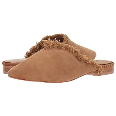 Free People Leather Newport Flat (Taupe) Women