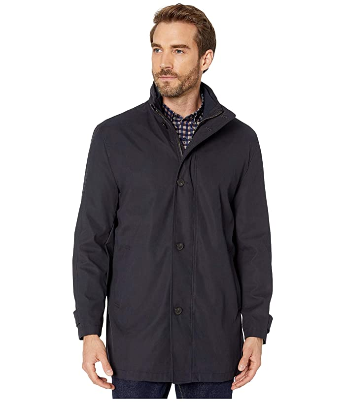 Johnston and Murphy  Car Coat (Navy) Mens Clothing