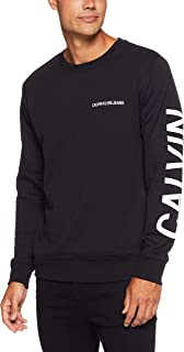 CALVIN KLEIN Jeans Men's Institutional Back Logo Regular Fit Crew Neck T-Shirt