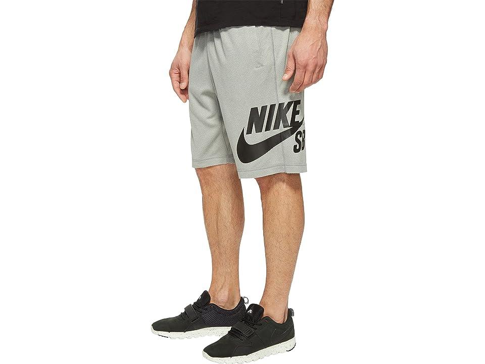 Nike SB SB Dri-FIT Short (Dark Grey Heather/Black) Men