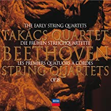 Beethoven: The Early String Quartets Op. 18, Nos. 1-6