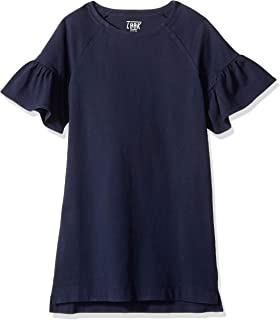 LOOK by Crewcuts Flare Sleeve Dress Bambina