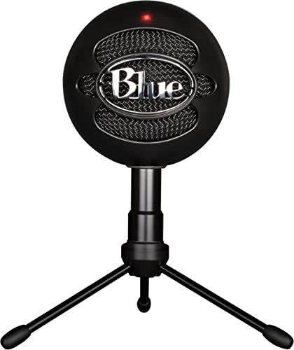 Blue Snowball iCE USB Mic for Recording and Streaming on PC and Mac, Cardioid Condenser Capsule, Adjustable Stand, Pl...