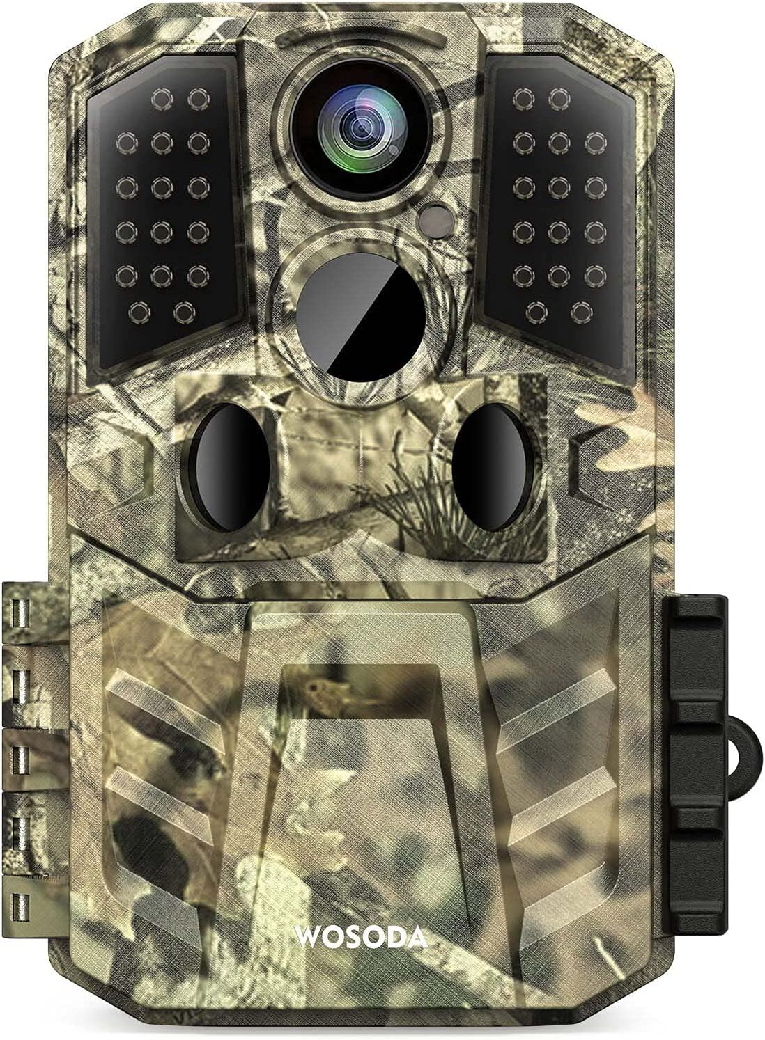 """Trail Camera 24MP 1920P HD, Hunting Game Camera 0.2s Trigger Time 3 Infrared Sensors ,Deer Camera with 120° 80ft Motion Activated Waterproof for Outdoor Wildlife Monitoring Home Security, 2"""" LCD"""