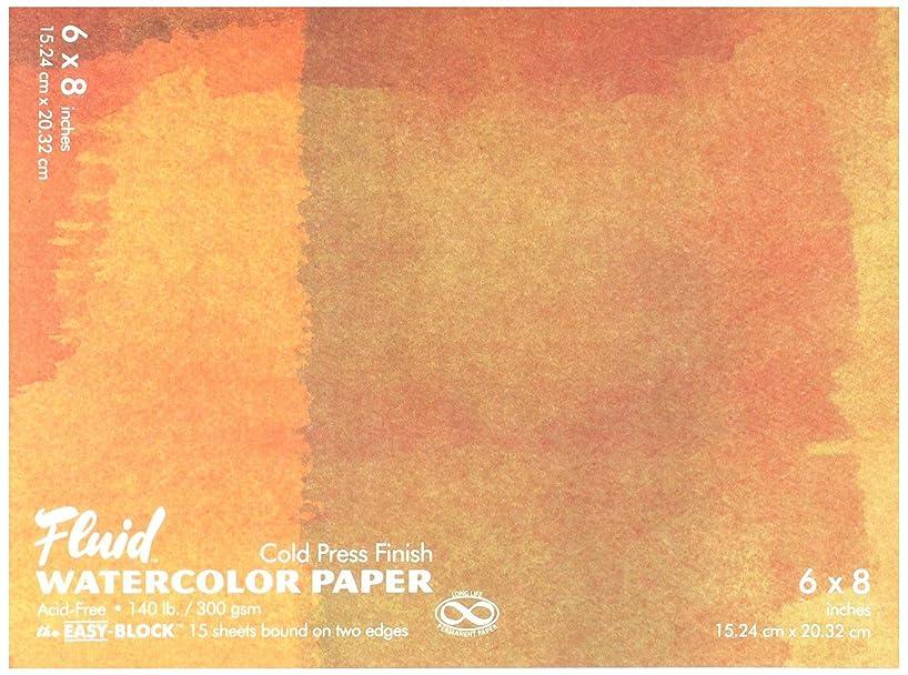 fluid GAP880068 Watercolor Block 6 X 8