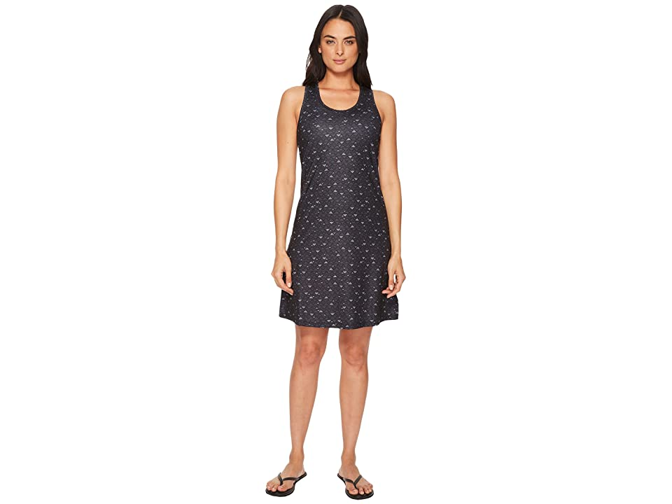 Columbia Saturday Trailtm II Knit Dress (Black Mountain Triangles Print) Women
