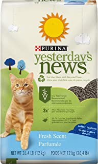 Purina Yesterday's News Fresh Scent & Clean Scent Paper Cat Litter