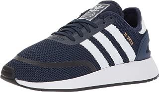 adidas Unisex-Kids N-5923 J Sneaker, Collegiate Navy, FTWR White, Grey Three Fabric