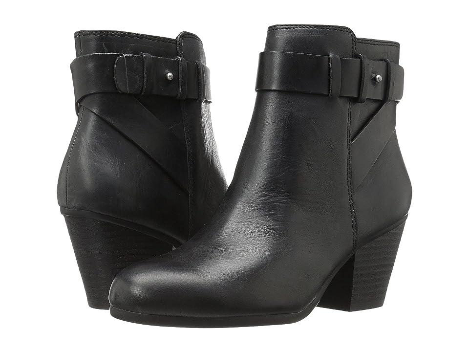 Aerosoles Inevitable (Black Leather) Women